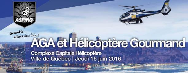 Invitation Hélicoptère Gourmand